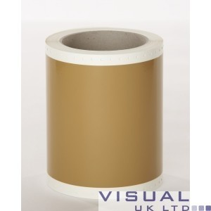 WRAP Light Brown Vinyl- Brown Glass