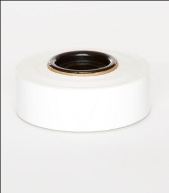 White Premium Vinyl 30mm x 25mm