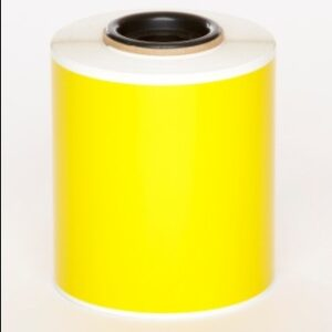 Yellow Premium Vinyl 75mm x 25mm