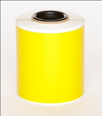 Yellow Premium Vinyl 100mm x 25mm