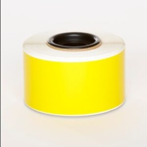 Yellow Premium Vinyl 50mm x 25mm
