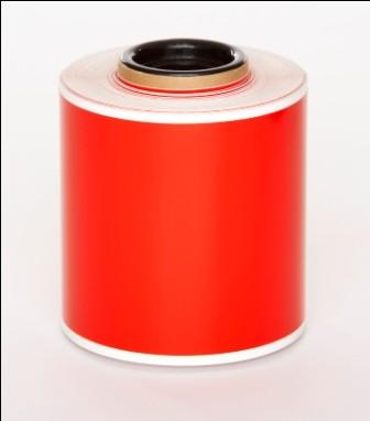 Red Premium Vinyl 100mm x 25mm