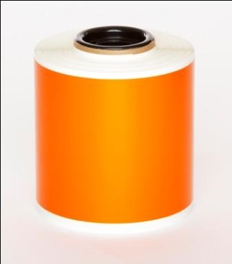 Orange Premium Vinyl 100mm x 25mm