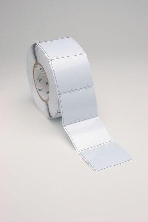 Metalised Polyester 3M 7872 Plat Silver Labels
