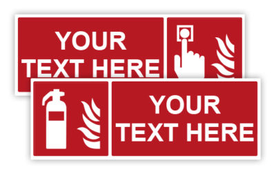 Fire fighting signs