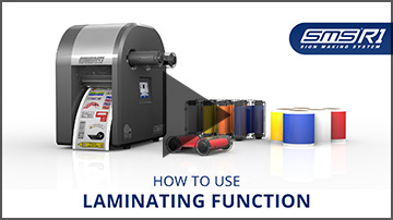 How to use laminating function