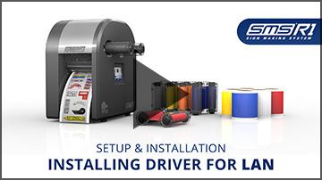 Installing driver for LAN